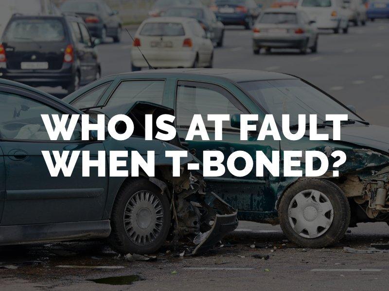 T Bone Accident Fault